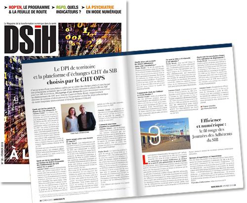 DSIH – Le DPI de territoire et la plateforme d'échanges GHT du SIB choisis par le GHT Orne-Perche-Saosnois