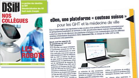 DSIH – eDen, une plateforme couteau suisse pour les GHT et la médecine de ville