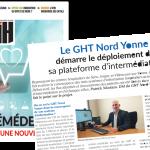 DSIH - le GHT Nord Yonne démarre le déploiement de sa plateforme d'intermédiation