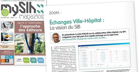 My SIH – Échanges Ville-Hôpital : La vision du SIB