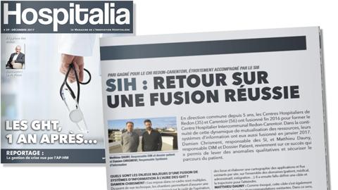 Hospitalia – SIH : Retour sur une fusion réussie