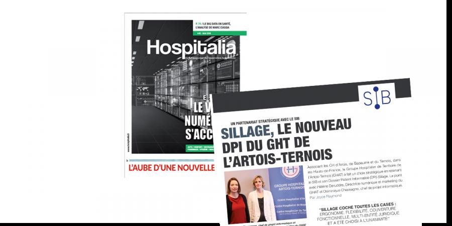 Hospitalia – Sillage, le nouveau DPI du GHT de l'Artois-Ternois