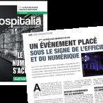 Hospitalia - un événement placé sous le signe de l'efficience et du numérique