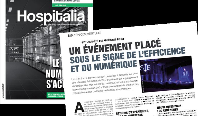 Hospitalia – un événement placé sous le signe de l'efficience et du numérique