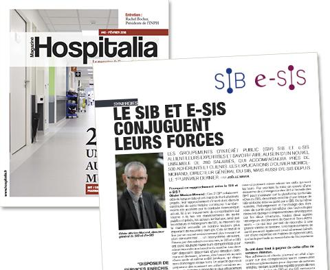 Hospitalia – Le SIB et e-SIS conjuguent leurs forces