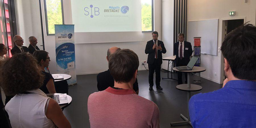 1er anniversaire de la coopération entre Mégalis Bretagne et le SIB