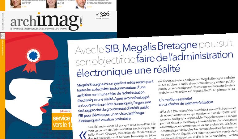 Archimag – Megalis Bretagne vers une administration électronique