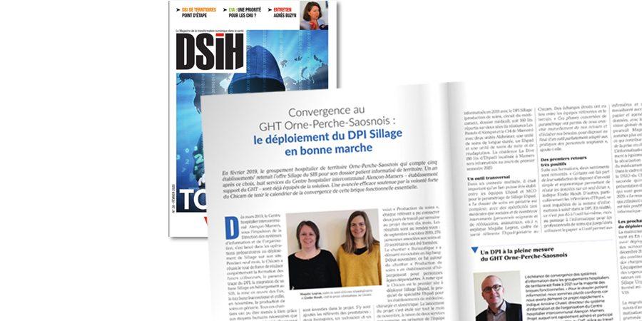 DSIH – Convergence au GHT Orne-Perche-Saosnois : le déploiement du DPI Sillage en bonne marche