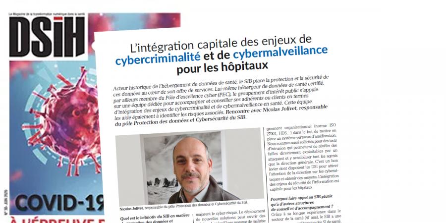 DSIH – L'intégration des enjeux de cybercriminalité est capitale pour les hôpitaux