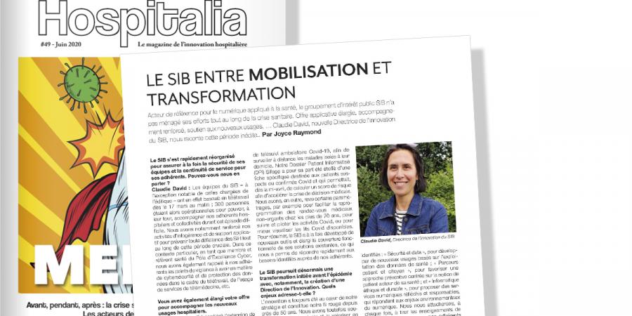 Hospitalia – Le SIB entre mobilisation et transformation