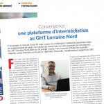 DSIH - Convergence :  une plateforme d'intermédiation au GHT Lorraine Nord