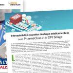 DSIH - Interopérabilité et gestion du risque médicamenteux  avec PharmaClass et le DPI Sillage