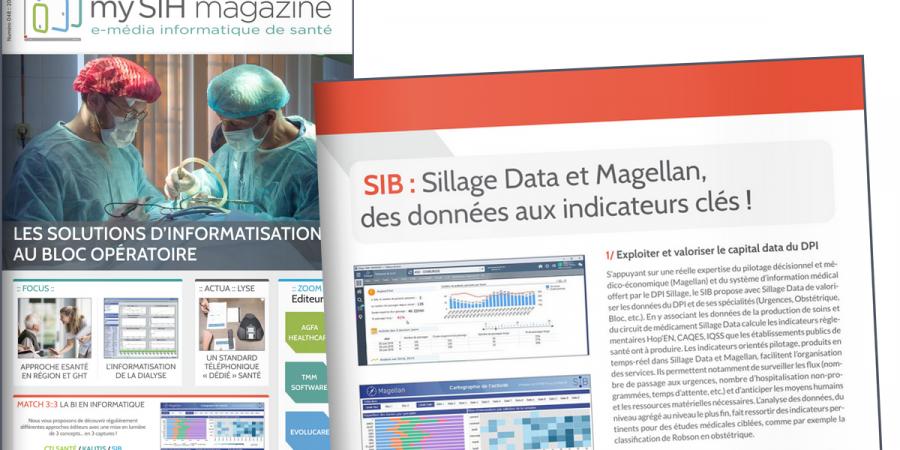 MySIH – Sillage Data et Magellan, des data aux indicateurs clés !
