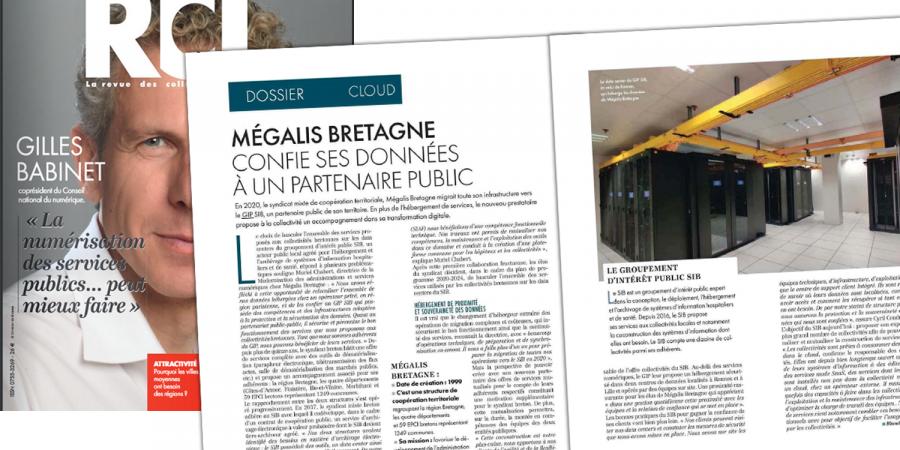 RCL – Mégalis Bretagne confie ses données à un hébergeur public
